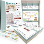 Happy Thanksgiving Precious Moments Exclusive Amazon Baby Memory Book W Keepsake Box & 30 Monthly & Baby
