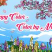 Hard Color by Number for Adults Inspirational Happy Color™ – Color by Number Apps On Google Play