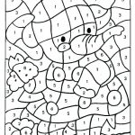 Hard Color by Number Worksheets Excellent Free Printable Coloring Pages Of Numbers – Smithfarmspa