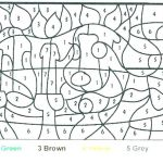 Hard Color by Number Worksheets Inspirational Extreme Coloring Pages – Healthwarehouse