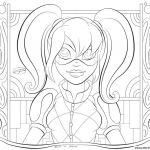 Harley Quinn Coloring Inspiring Coloring Pages for Adults Hd