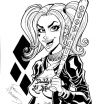 Harley Quinn Coloring Page Inspiration Harley Quinn Coloring Pages