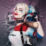 Harley Quinn Face Mask Creative Par Margot Robbie as Harley Quinn Suicide Seuad August See It In 3d