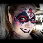 Harley Quinn Face Mask Inspirational Harley Quinn Makeup and Face Painting Tutorial