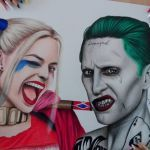 Harley Quinn Face Mask Inspiring Harley Paintings Search Result at Paintingvalley