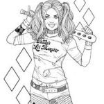 Harley Quinn Suicide Squad Coloring Pages Exclusive 10 Best Harley Quinn Coloring Pages Images In 2019