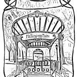 Harry Potter Coloring Book Online Creative Urban Coloring Pages for Adults
