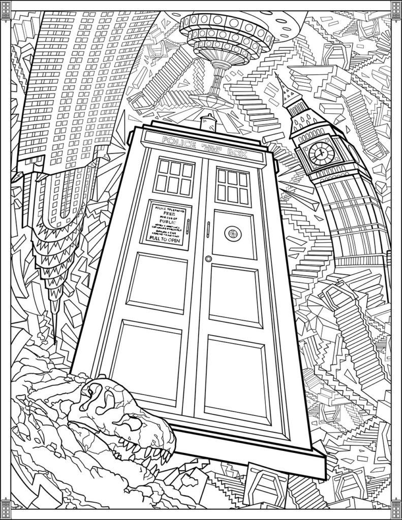 coloring Harry Potter Coloring Pages Idees Fluch Book Printable