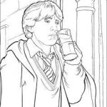 Harry Potter Printable Coloring Pages Amazing 75 Best Harry Potter Colouring Pages Images In 2017
