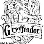 Harry Potter Printable Coloring Pages Inspiring Hogwarts Crest Coloring Page Elegant Hogwarts Coloring Pages Elegant