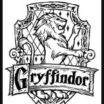 Harry Potter Printable Coloring Pages Wonderful Gryffindor Crest Coloring Page