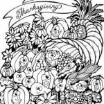 Harvest Coloring Pages Inspirational 96 Happy Thanksgiving Cornucopia Coloring Pages Cornucopia