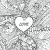 Heart Coloring Pages for Adults Inspired Coloring Pages Hearts Roses Cool Coloring Page for Adult Od Kids