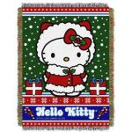 Hello Kitty Christmas Tree topper Inspired Christmas Blankets & Throws You Ll Love
