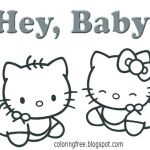 Hello Kitty Color Sheets Awesome Hello Kitty Coloring – Bryane