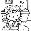 Hello Kitty Color Sheets Beautiful Coloring Freeable Hello Kitty Coloring Pages for Kids Inspiration