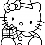 Hello Kitty Color Sheets Best Huge Collection Of Free Printable Hello Kitty Clipart Download