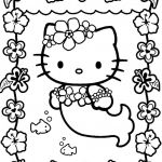 Hello Kitty Color Sheets Wonderful Coloring White Rice