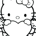 Hello Kitty Color Sheets Wonderful Hello Kitty Coloring Pages Free – Infopyme