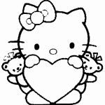 Hello Kitty Coloring Amazing Beautiful Free Coloring Pages for Kids Hello Kitty