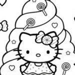 Hello Kitty Coloring Awesome Coloring Pages Fresh Printable Cds 0d Download by Size Handphone