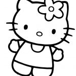 Hello Kitty Coloring Beautiful Full Hello Kitty Coloring Pages