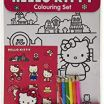 Hello Kitty Coloring Books Awesome Wow Hello Kitty Jumbo Colouring Book Amazon toys & Games