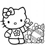 Hello Kitty Coloring Inspired Hello Kitty Coloring Pages Einfache Malvorlagen Hello Kitty Coloring
