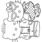 Hello Kitty Coloring Pages Beautiful Gothic Hello Kitty Coloring Pages