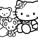 Hello Kitty Coloring Pages Marvelous Coloring Hello Kitty Coloring Pages to Color Inspiration