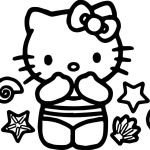 Hello Kitty Colring Sheets Marvelous Hello Kitty Coloring Pages Summer Felszamolas