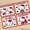 Hello Kitty Free Printables Best Of Free Printable Hello Kitty Valentines Valentine S Day