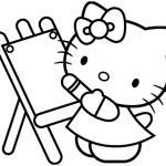 Hello Kitty Printable Coloring Pages Amazing Free Cartoon Kitty Download Free Clip Art Free Clip Art