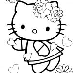 Hello Kitty Printable Coloring Pages Beautiful theinn