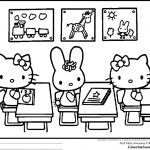 Hello Kitty Printable Coloring Pages Best Coloring Freeable Hello Kitty Coloring Pages for Kids Inspiration