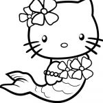 Hello Kitty Printable Coloring Pages Inspiration Coloring Freeable Hello Kitty Coloring Pages for Kids Inspiration