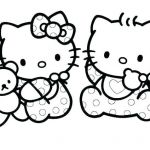 Hello Kitty Printable Coloring Pages Inspired Baby Cat Coloring Pages – Chromadolls