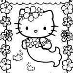 Hello Kitty Printable Coloring Pages Pretty Coloring Books Coloring Bookslo Kitty Pages Lovely Free Printable