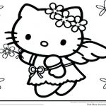 Hello Kitty Printable Coloring Pages Wonderful Hellow Kitty Coloring Pages astonising Beautiful Free Hello Kitty