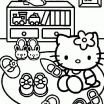 Hello Kitty Printable Elegant Hello Kitty Coloring Page