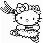 Hello Kitty Printable Inspired Hello Kitty Coloring Page