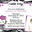 Hello Kitty Printable Inspired Hello Kitty Invitations Printable Free Template Birthday for Girls