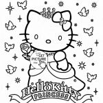 Hello Kitty Printable Pretty Lovely Free Coloring Pages Hello Kitty