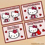 Hello Kitty Printable Wonderful Free Printable Hello Kitty Valentines Valentine S Day