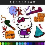 Hello Kitty Snowman Awesome Hello Kitty Hello Kitty Happy New Year Greetings