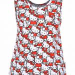 Hello Kitty Snowman Best Hello Kitty Red & White Printed T Shirt Buy Hello Kitty Red