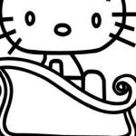 Hello Kitty Snowman Excellent Hello Kitty Christmas Coloring Pages Free Unique Pics Coloring Pages