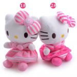 Hello Kitty Snowman Exclusive Cute Hot Pink Floral Hello Kitty Cartoon Cat Plush Hello Kitty Hold