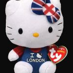 Hello Kitty Snowman Pretty Hello Kitty I Love London Cat Ty Beanie Babies
