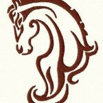 Horse Head Stencil Inspiration 155 Best Horse Stencils Images In 2019
